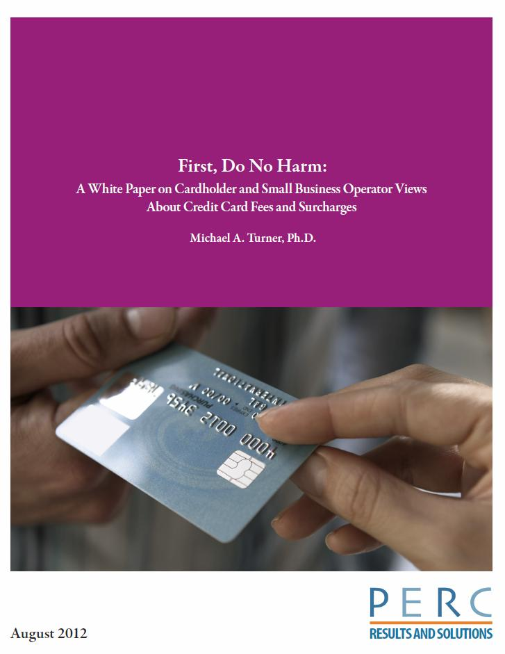 First Do No Harm: A White Paper on Cardholder and Small Business ...